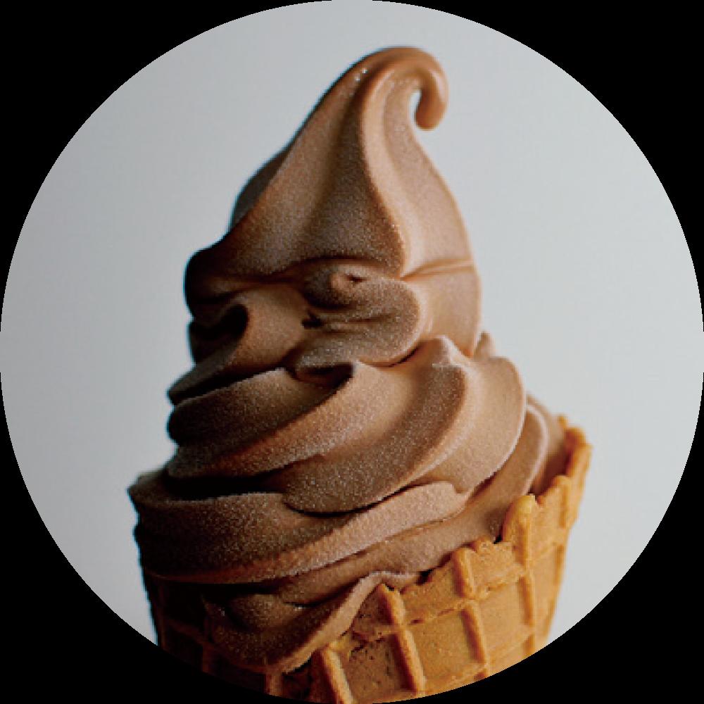IWAMI CRAFT CHOCOLATE 無添加チョコソフトクリームミックス