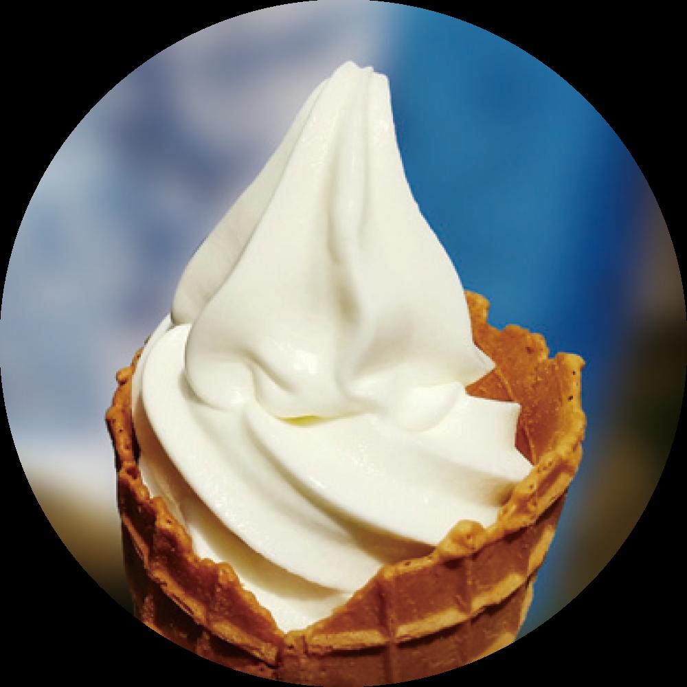 世界遺産 銀ノ高原生きてる乳酸菌のヨーグルトソフトクリームミックス